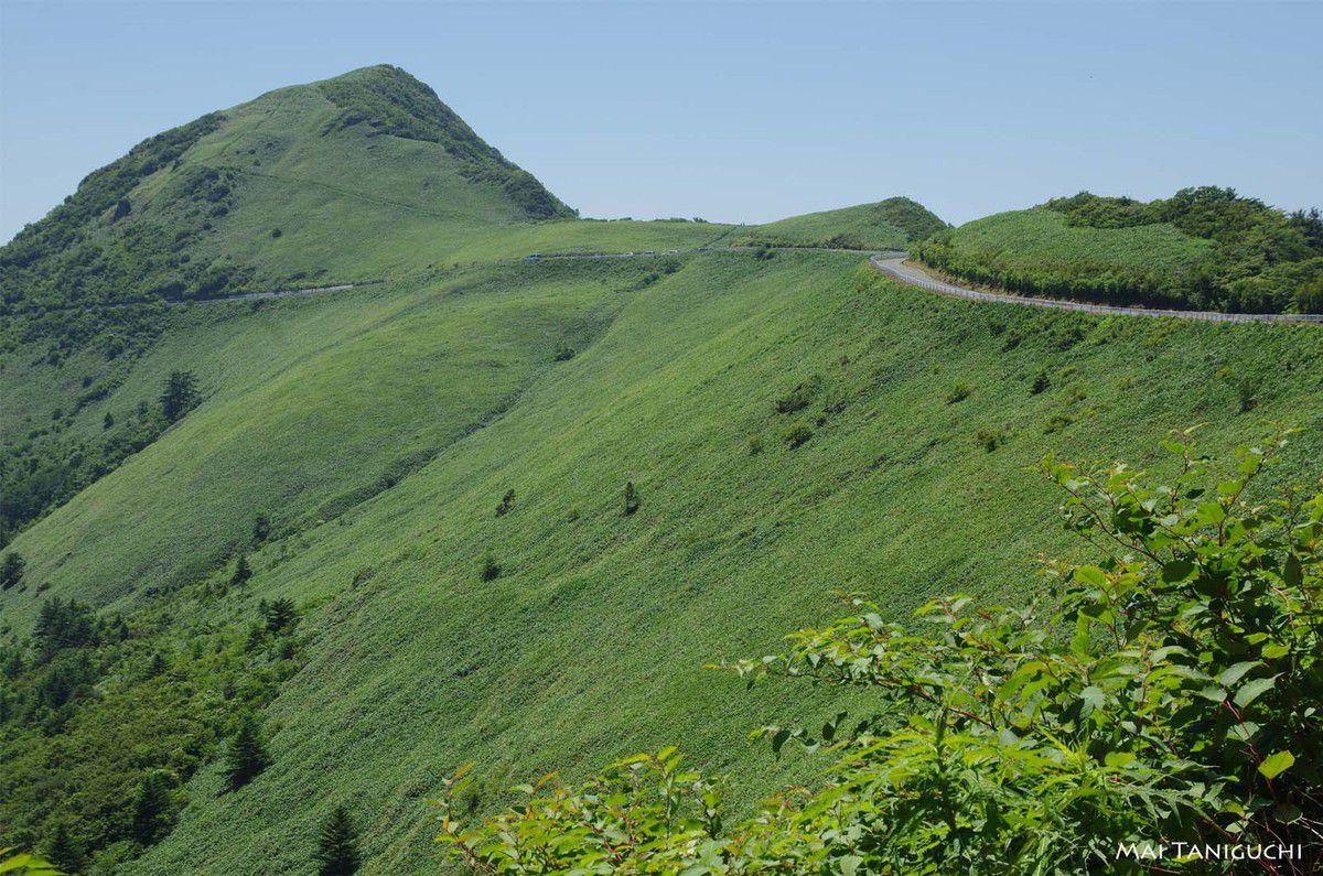 La vallée Omogo et la montagne Ishizuchi 2