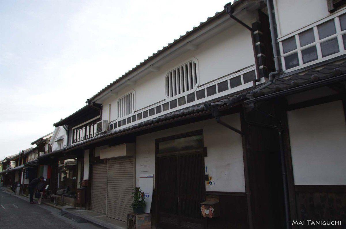 La première balade de l'année à Kurashiki