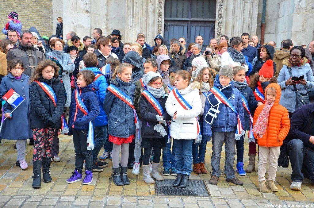 Cérémonie du 11 Novembre-Dunkerque 2014 .