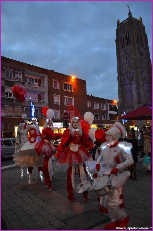 Dunkerque La Féerique 2014 ( 1ère partie) .