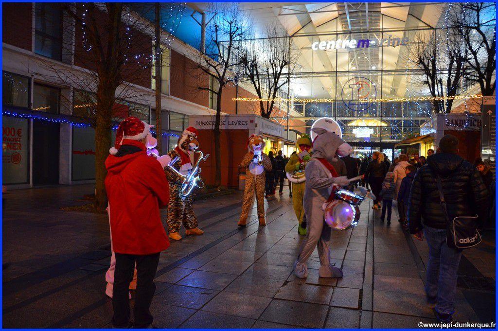 Dunkerque la Féerique (2ème partie) Noël 2014 .