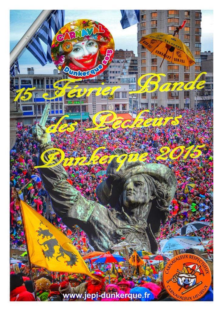 Affiches du Carnaval Dunkerque 2015 .