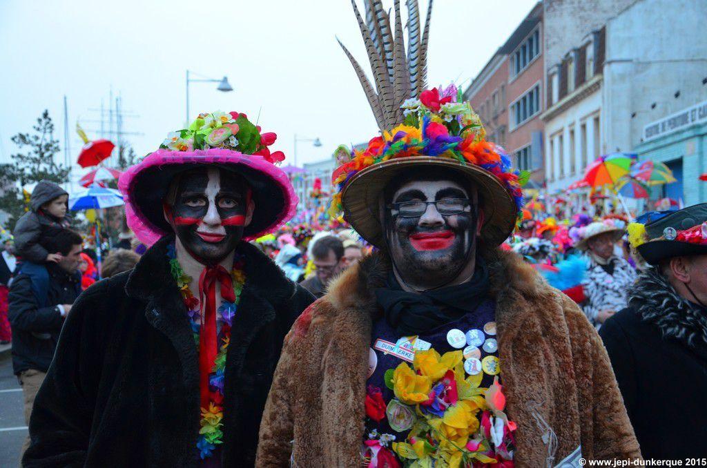 Portraits de Carnavaleux - Dunkerque 2015 .
