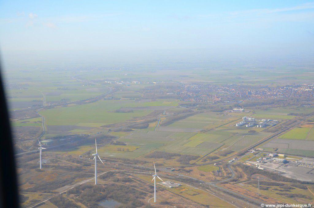 Aéroclub des Moëres-Balade au dessus du Dunkerquois et de la cote d'Opale
