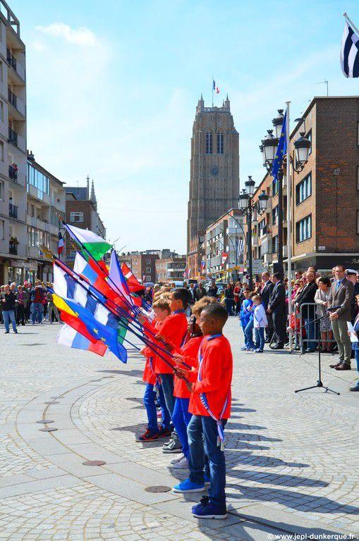 70 ème anniversaire de la Victoire du 08 Mai 1945 et de la Libération de la ville .