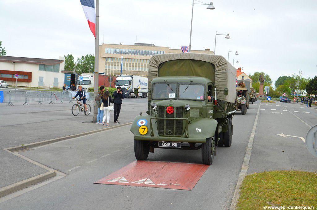 Défilé de Musique 75 ème Anniversaire Opération DYNAMO - Dunkerque 2015 .