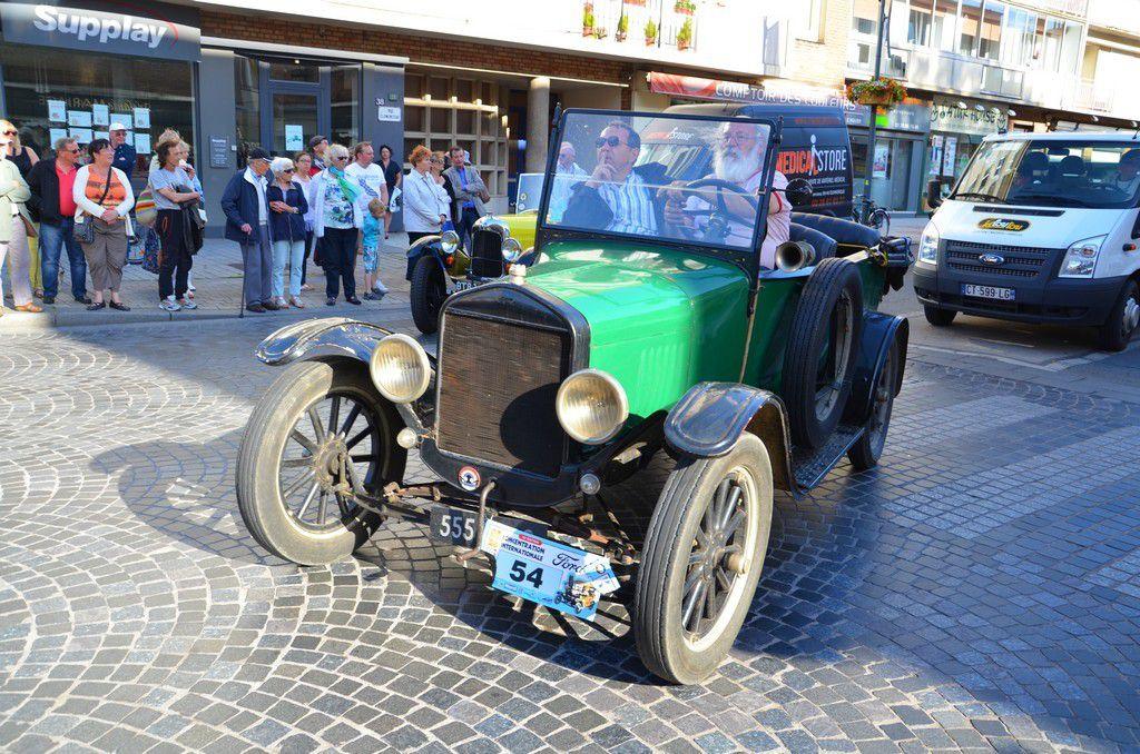 Les Ford &quot&#x3B;T&quot&#x3B; à Dunkerque 2015