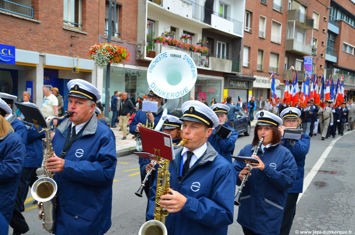 Fête Nationale 14 Juillet 2015-Dunkerque.