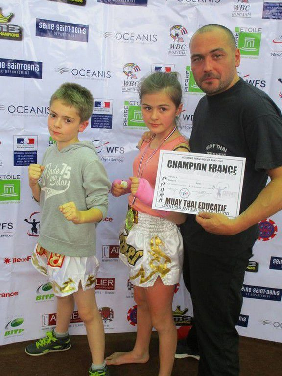 Siam Boxing Team - Teteghem 2015 .