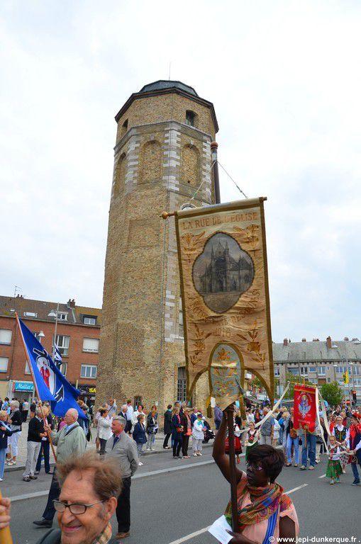Procession du 15 Août et bénédiction de la mer - Dunkerque 2015 .