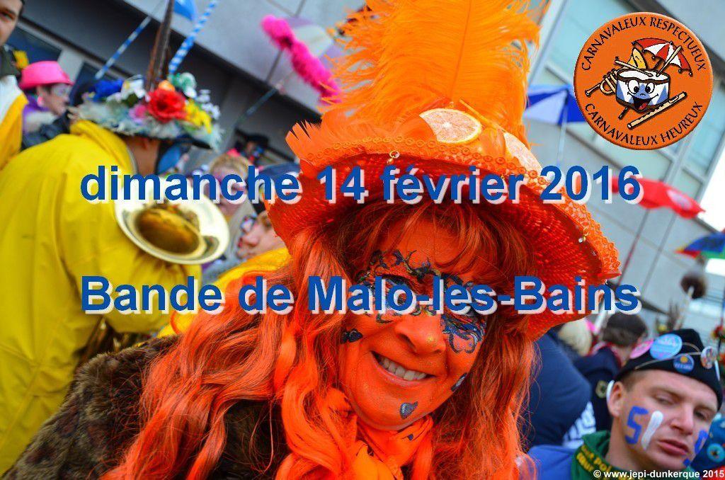Les Dates du CARNAVAL - Dunkerque 2016 .
