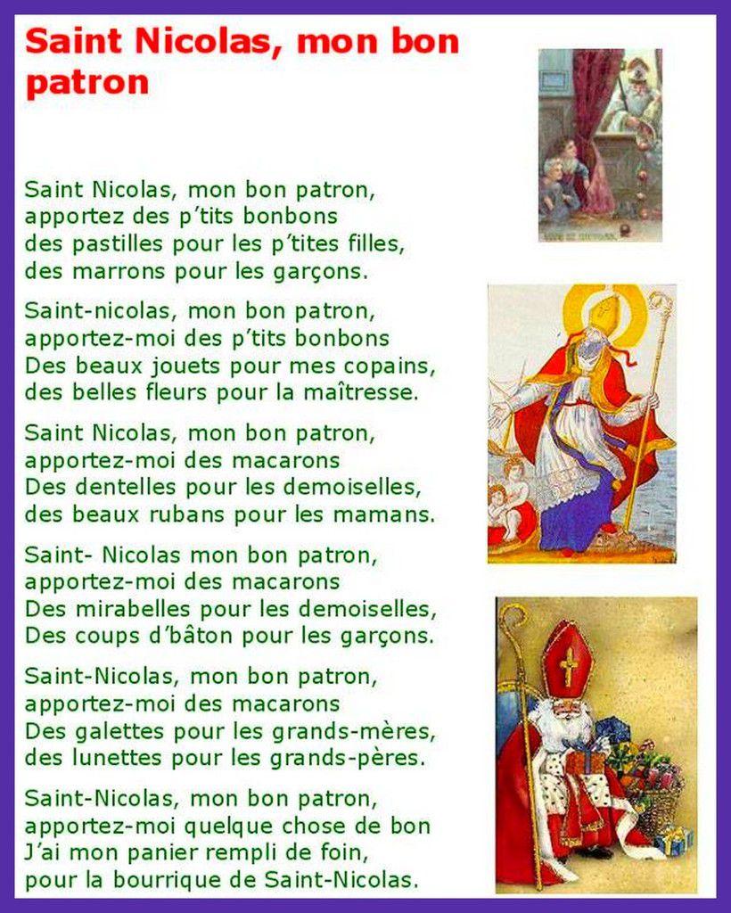Bonne Fête de Saint Nicolas .