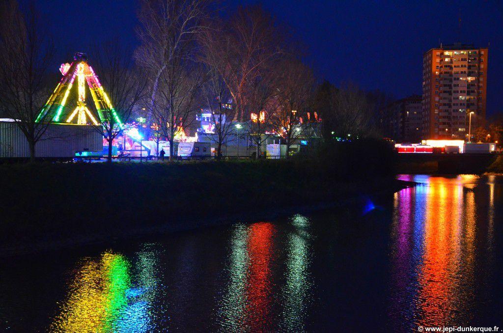 Dunkerque la Féerique-La foire d'hiver ( Suite et fin ) Dunkerque 2015 .