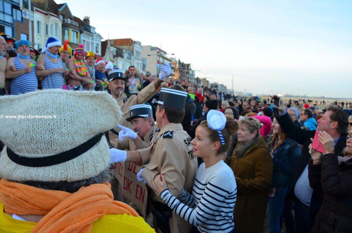 Le Bain des Givrés-Dunkerque 2016 .