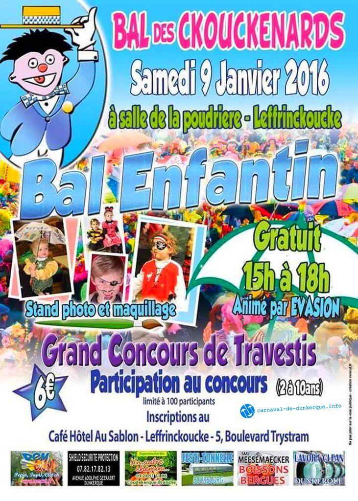 Affiche du Carnaval de Dunkerque 2016 .