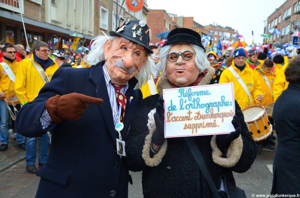 Bande des Pêcheurs-Carnaval de Dunkerque 2016 .