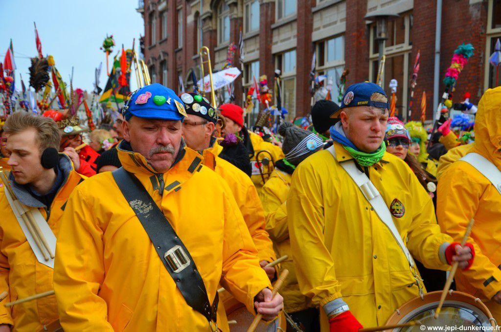 La Bande de la Citadelle-Carnaval de Dunkerque 2016 .