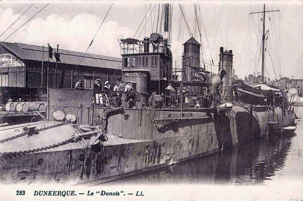 (02) Cartes postales anciennes de DUNKERQUE . La Guerre de 1914/1918 .