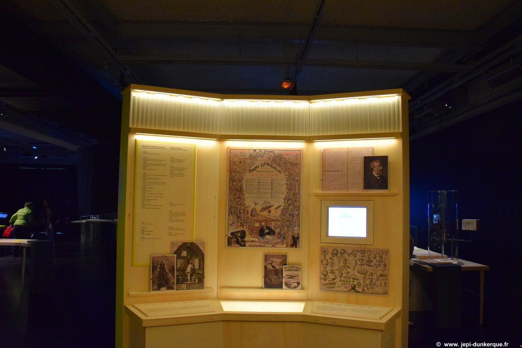Expositions J. Verne, les Météorites au PLUS - Dunkerque/Cappelle la Grande 2016