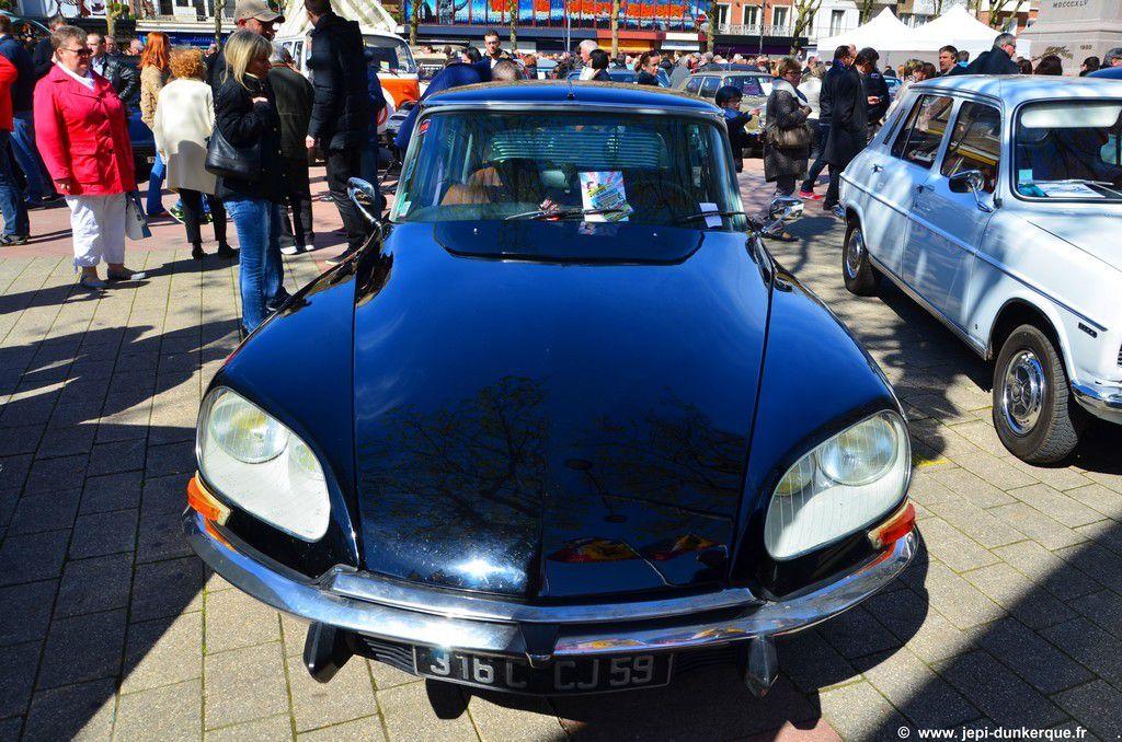 Exposition de voitures anciennes-Dunkerque 2016 .