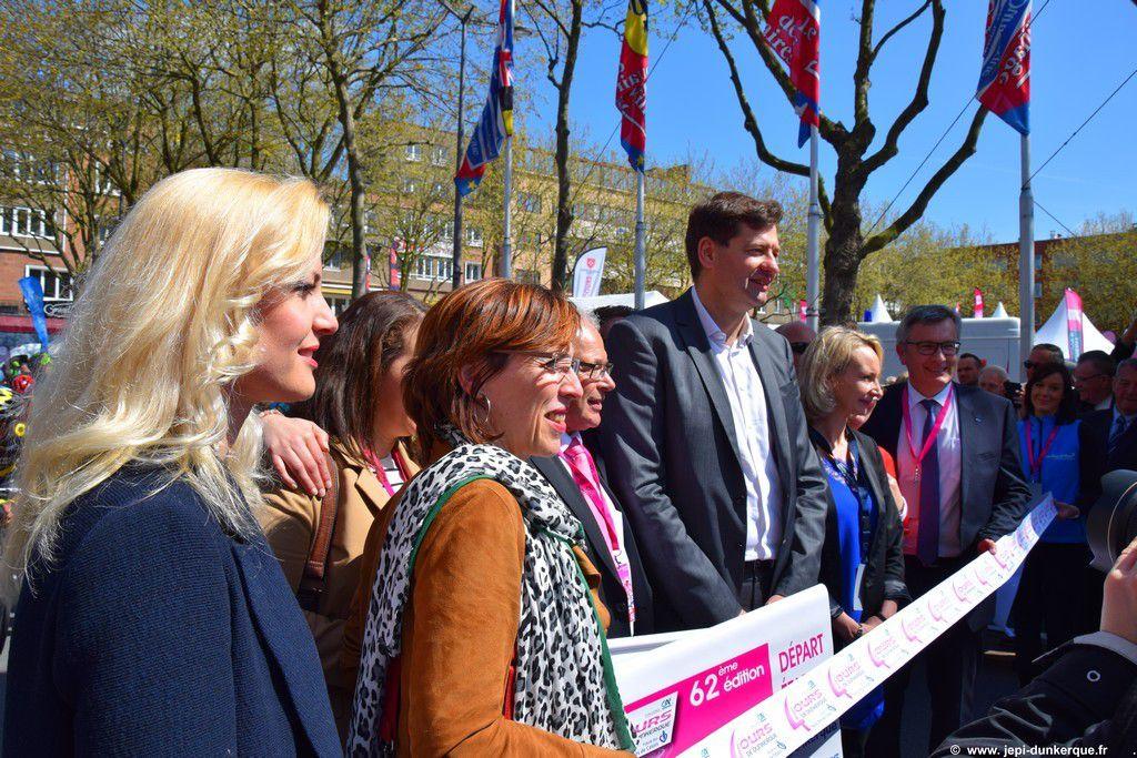 Les 4 Jours de Dunkerque 2016 - Le départ .