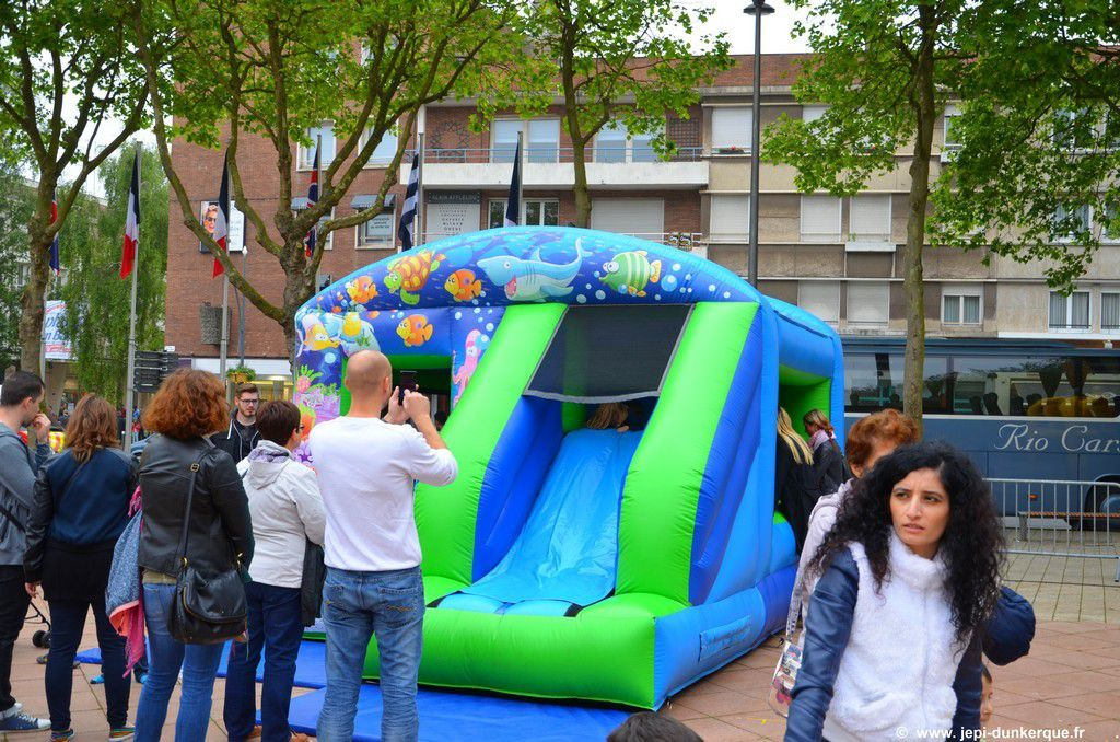 Animations Place Jean Bart-Dunkerque 2016