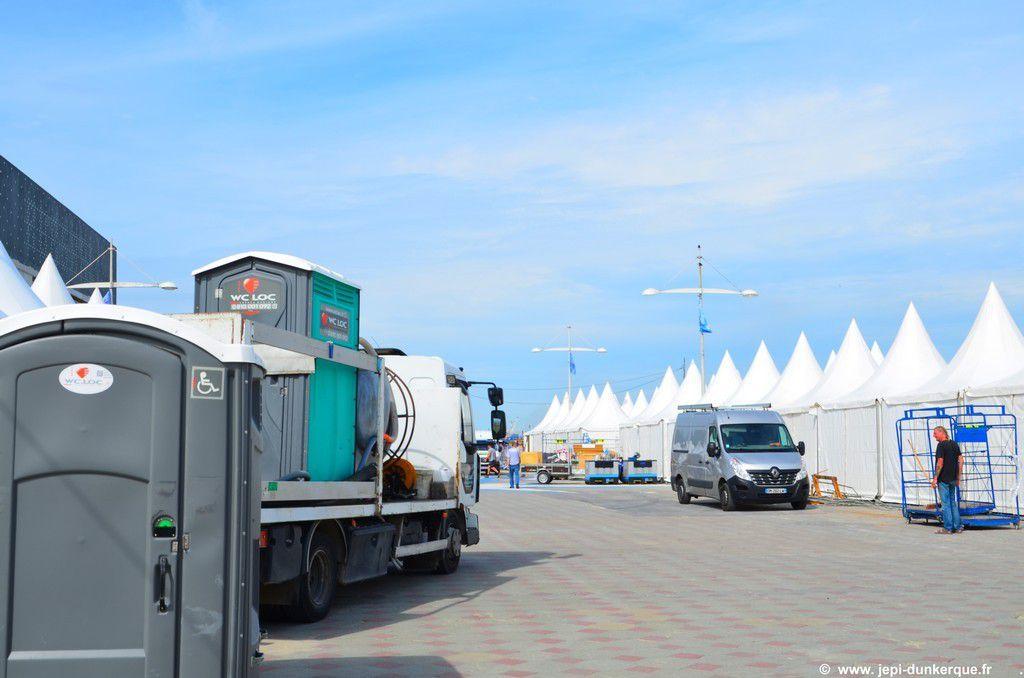 Tour de France à la voile-Les préparatifs-Dunkerque 2016
