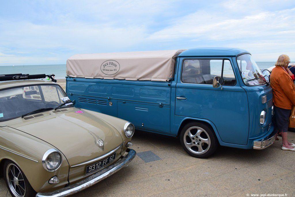 Les Volkswagen sur la digue de Malo les Bains Dk 2016
