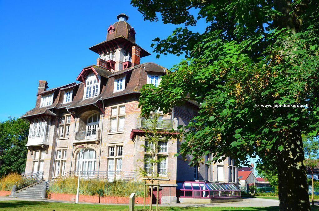 Le château Coquelle et son parc Dunkerque 2016 .