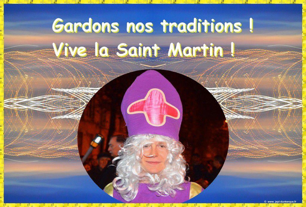La Saint Martin - les itinéraires - Dunkerque 2016 .
