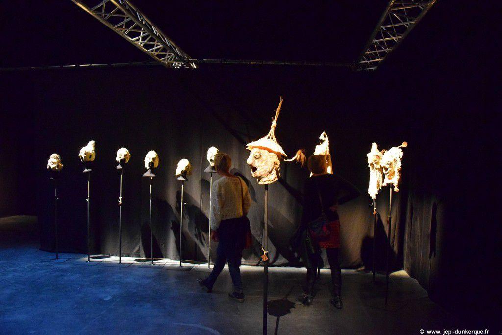 L'HOMME 100 MASQUES -Théâtre de la Licorne - Dunkerque 2016 .