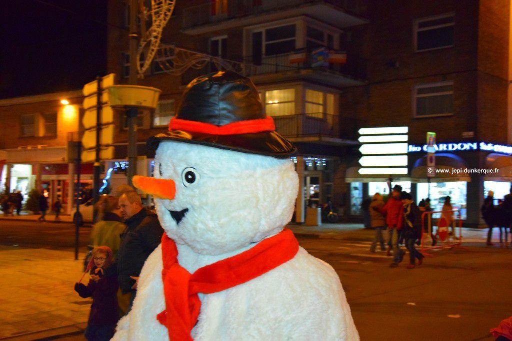 Parade de Noël Dunkerque 2016 .