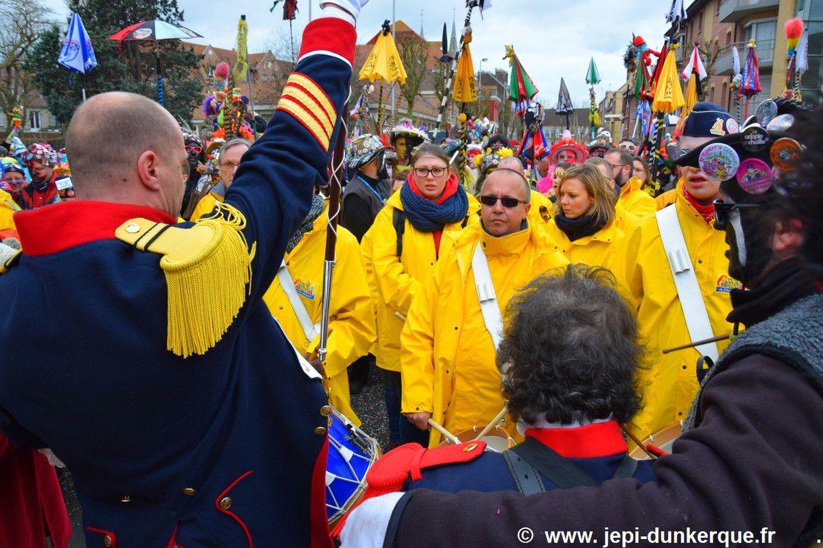 Carnaval de Dunkerque 2017 - Bande de la Basse-Ville .