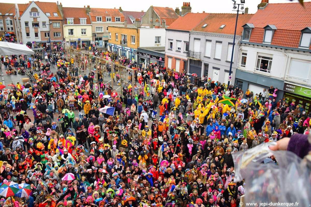 Carnaval de Dunkerque 2017 - Les chapelles de Rosendaël .