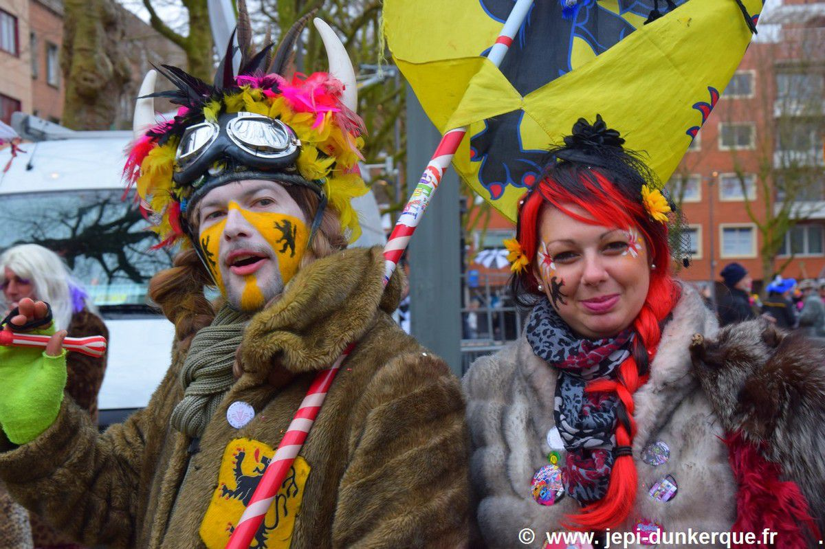 Carnaval de Dunkerque 2017 - Portraits de Carnavaleux .
