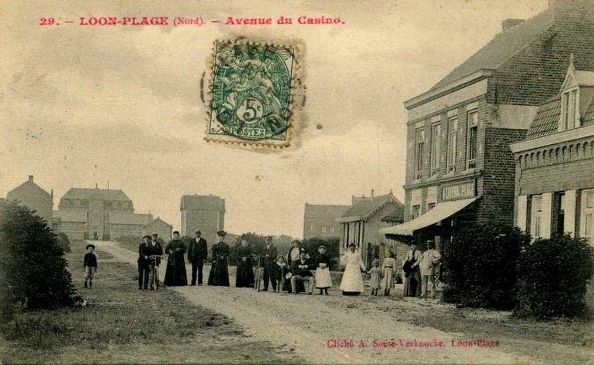 (18) Loon-Plage Cartes Postales Anciennes .