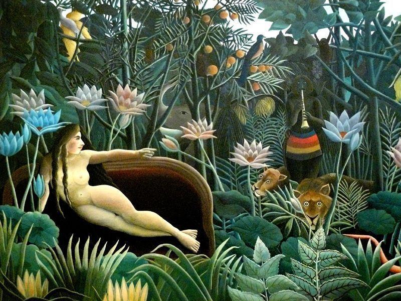 """Douanier Rousseau, """"Le rêve"""", 1910"""