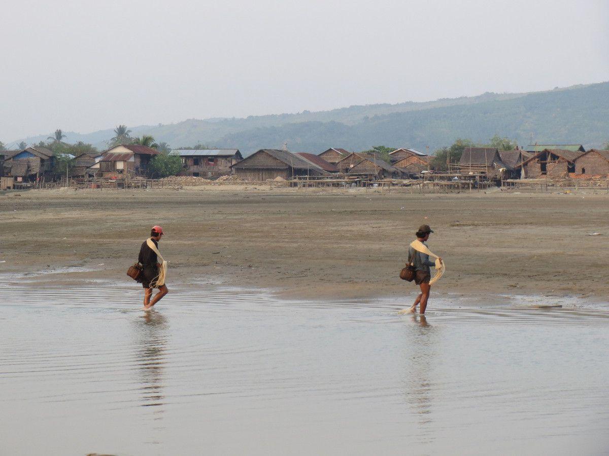 Premiers contacts avec la mer Andaman et plus largement l'océan indien!