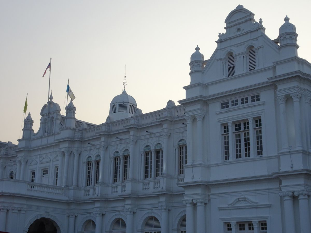 George Town la capitale de Penang et son architecture coloniale British