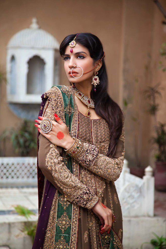 Collection mariage signée Aisha Imran (Fashion made in Pakistan).