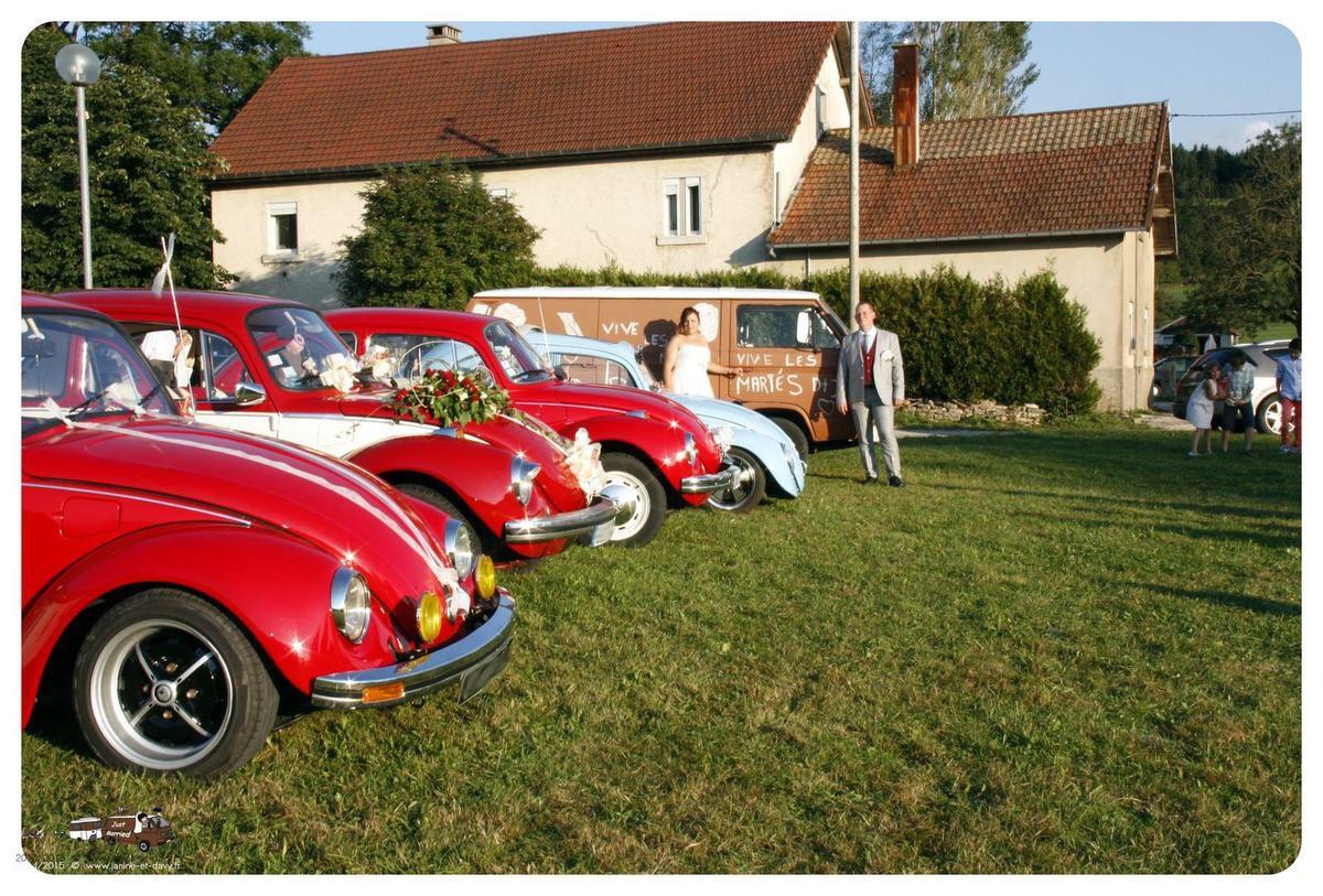 Un mariage en Volkswagen !