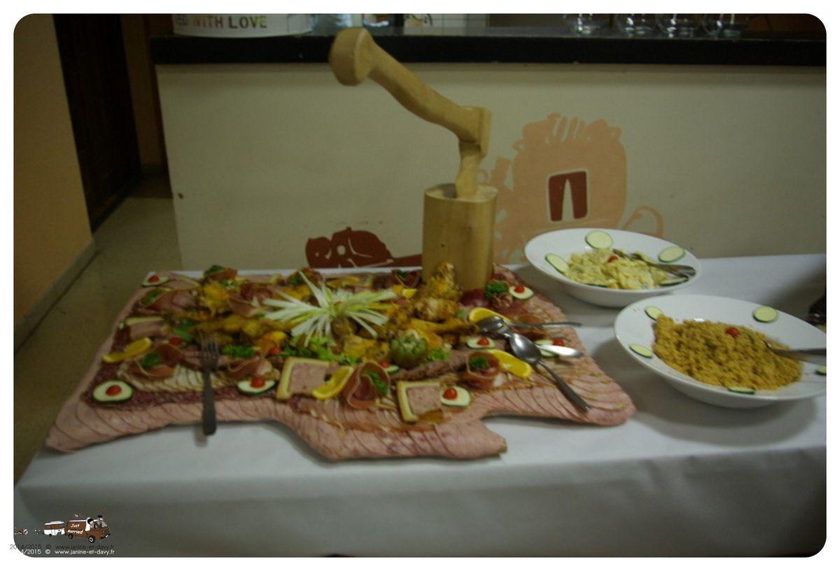Le Buffet du repas de noce