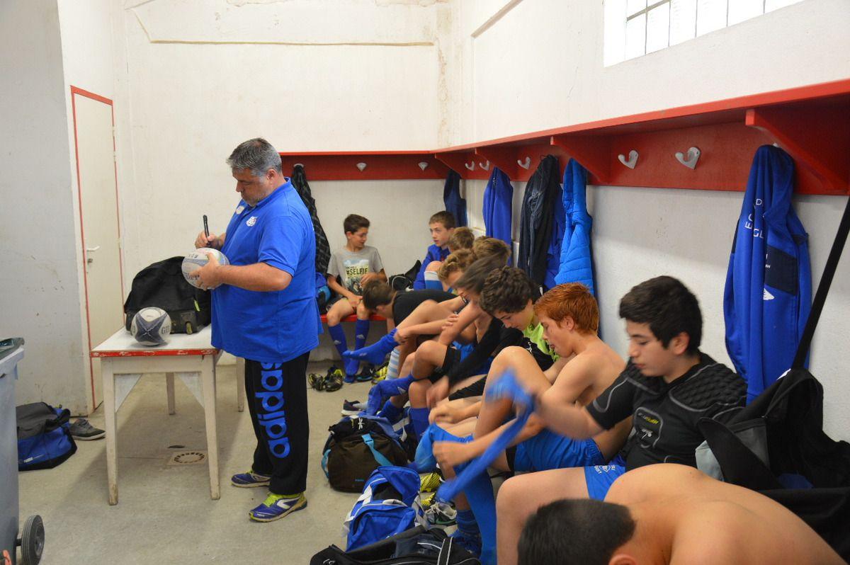 TRIANGULAIRE à AGUILERA CONTRE BLALCKROCK COLLEGE ET LE BIARRITZ OLYMPIQUE: