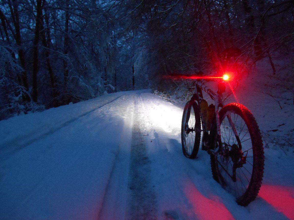 Seul dans la nuit polaire !
