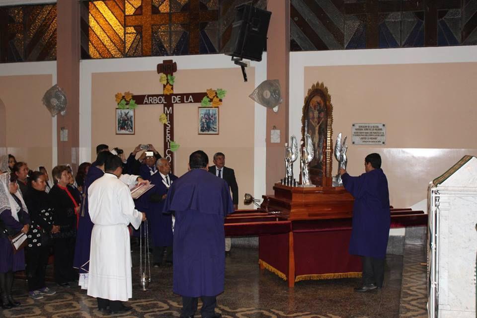 PARROQUIA SEÑOR DE LOS MILAGROS COMAS - 1ER DÍA DE NOVENA Y BENDICIÓN DEL ANDA INFANTIL JUEVES 13 DE OCTUBRE 2016