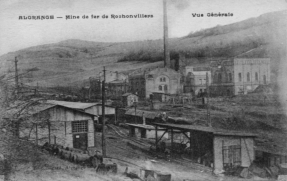Algrange mine de Rochonvillers
