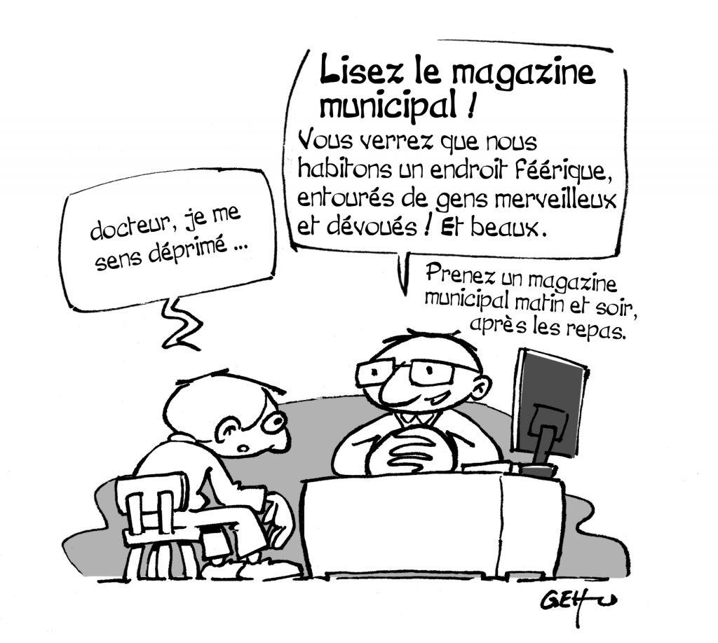 Conseil municipal rions un peu