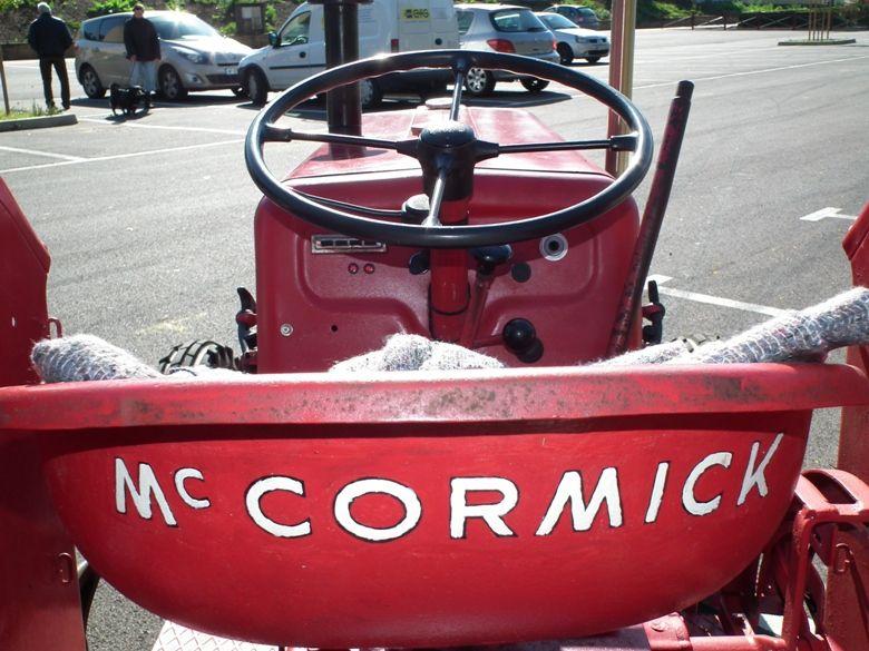 Algrange reçoit des tracteurs en 2011