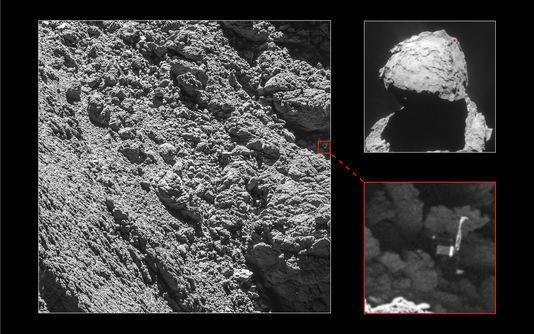 Rosetta a retrouvé Philaë