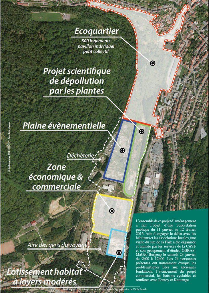 Site de la Paix aménagement par le Val de Fensch MaJ 05 05 2017